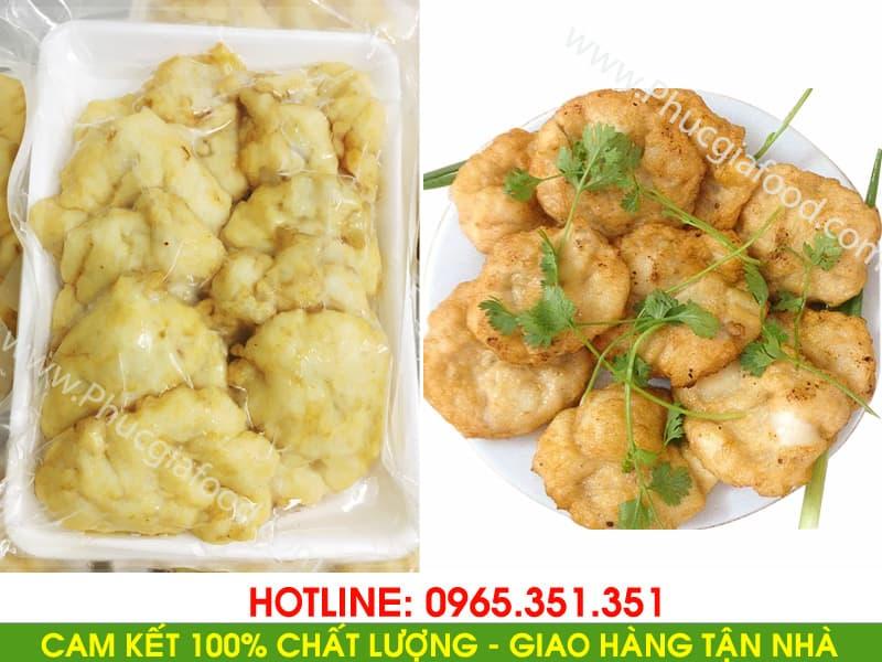 Hình ảnh chả mực Giã Tay Hạ Long - Phúc Gia Food