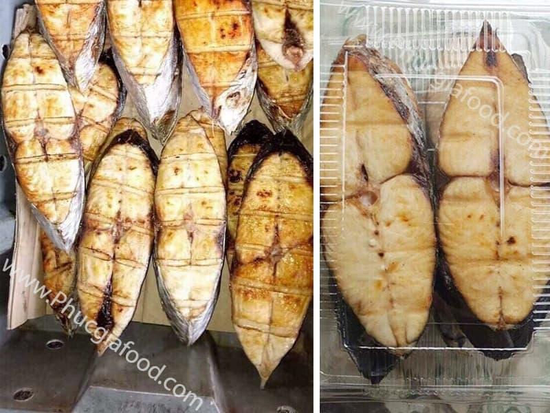 bán buôn bán lẻ cá thu nướng ngon cắt khúc số lượng lớn