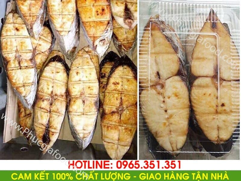 bán buôn, bán lẻ báo giá cá thu nướng cắt khúc loại ngon