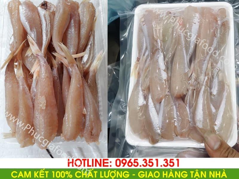 Đại lý chuyên sỉ lẻ báo giá bán cá đùi gà 1 nắng rẻ và uy tín