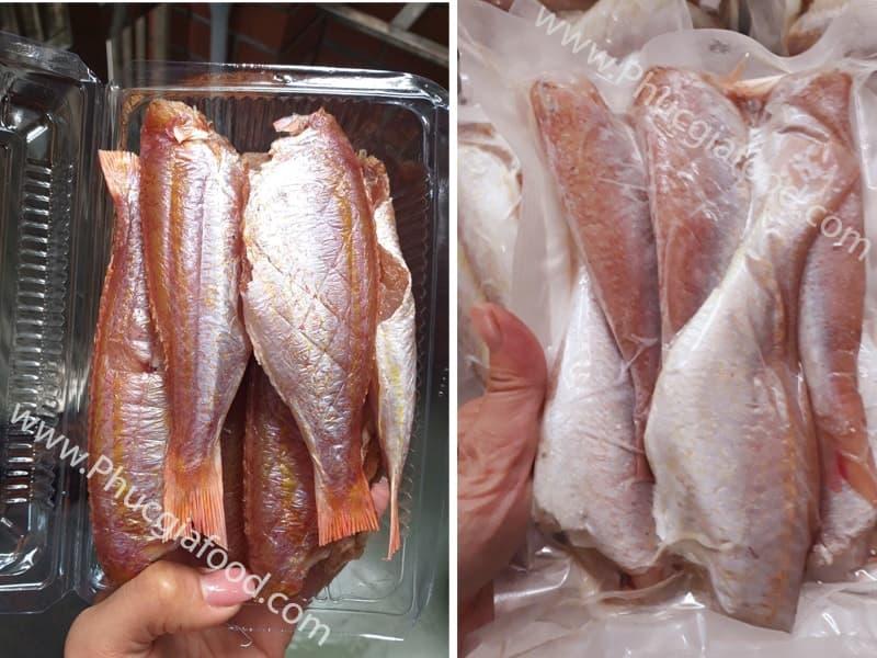 Đại lý bán sỉ lẻ báo giá cá phèn hồng 1 nắng uy tín nhất