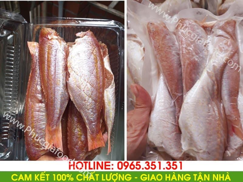 Lý do nên mua sỉ lẻ cá hồng phèn một nắng ngay tại phúc gia food