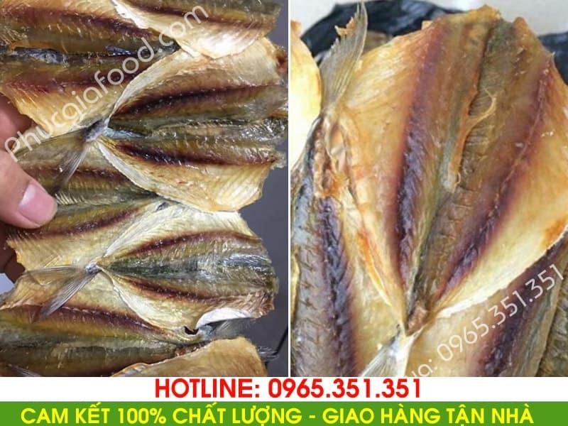 Đại lý bán buôn lẻ cá chỉ vàng nướng ngon hạ long