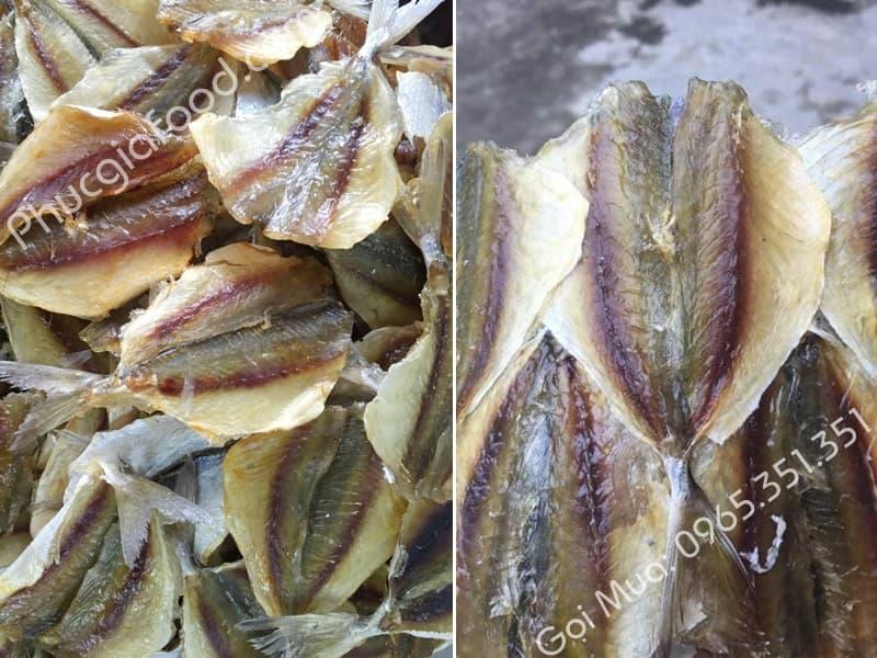 Đại lý uy tín báo giá cá chỉ vàng khô bao nhiêu 1kg